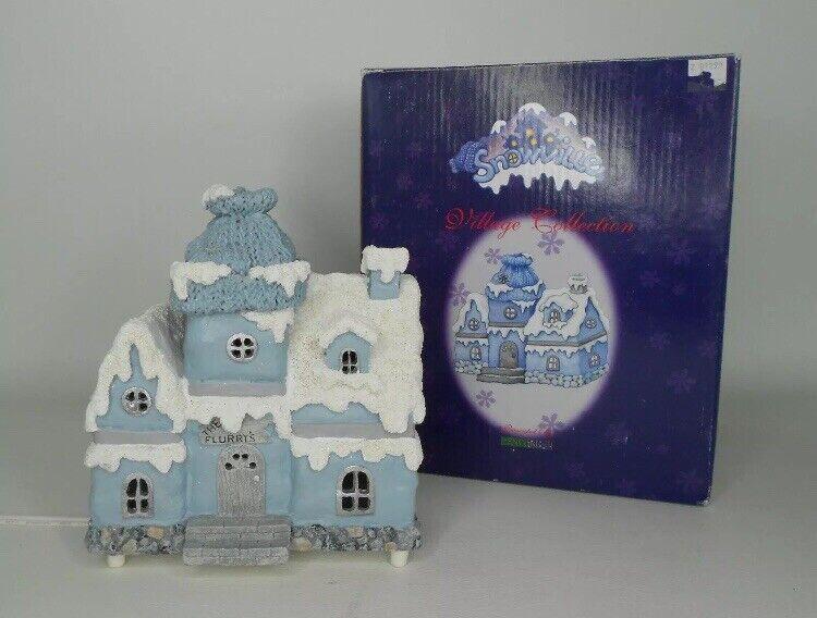 """Encore 1999 Snow Buddies Snowville """"FLURRY'S HOUSE"""" # 94902 - Excellent"""