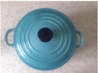 LE CREUSET Cast Iron Casserole - NEW!!
