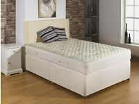 "**100% GUARANTEED PRICE!**Double Bed/Small Double/Single Bed With 11""Thick Full Orthopaedic Mattress"