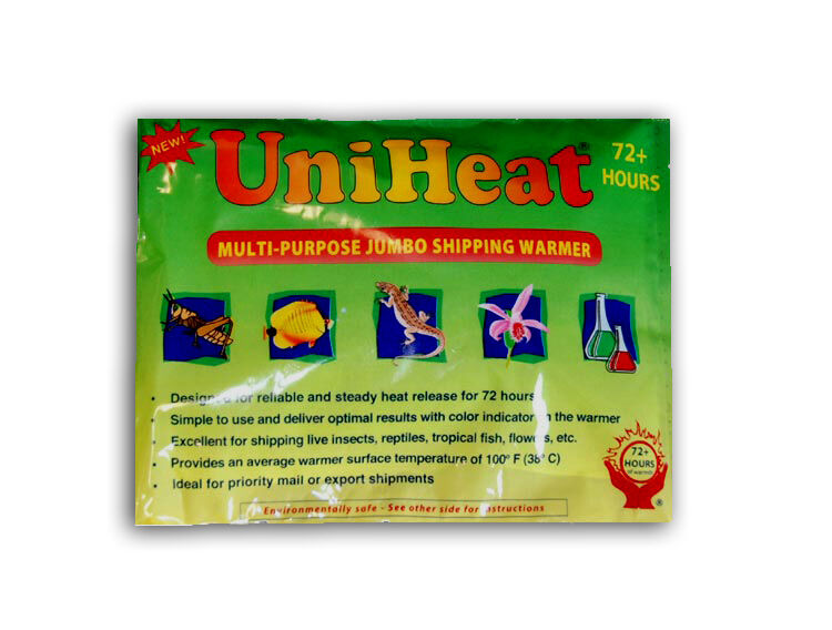 10 Pack!!  UniHeat 72 Hour Shipping Warmer Heat Pack FREE 2 DAY SHIPPING!