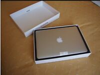 "Apple MacBook Pro retina 15"" i7 2.6GHz 16GB SSD Logic Pro Photoshop Final Cut"