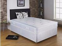 BRAND NEW DOUBLE DIVAN FULL ORTHOPEDIC BED !! BED BASE + ORTHOPEDIC MATTRESS