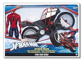 Brand New Spider-Man Cycle And Spider-Man Set
