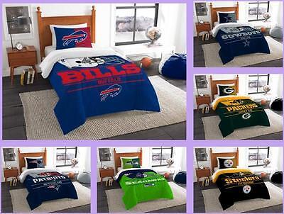 nfl licensed 2 piece twin comforter