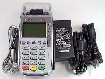 Verifone Vx520 Emvchip Card Pn M252-753-a3-naa-3 Guaranteedunlocked