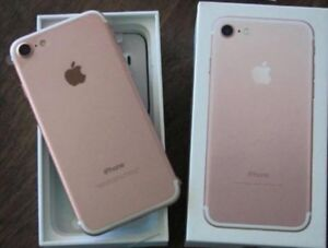 IPhone 7 32 gb rose gold perfect condition unlocked