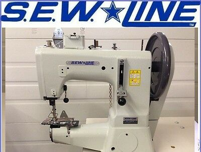 Sewline Sl-441s New Extra Heavy Duty Machine Head Only Industrial Sewing Machine