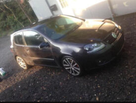 VW GOLF MK5 GT TDi 2.0 140 BKD 1.9 BKC 105 BHP BLACK BREAKING FOR PARTS SPARES