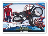 Brand New In Box Spider-Man with Spider Cycle Toy
