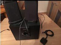 Wharfedale 2.1 speakers