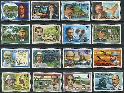 CHRISTMAS ISLAND  69 - 84  Beautiful Mint Never Hinged  Set   UPTOWN 25782