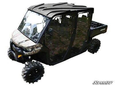 SuperATV Can-Am Defender MAX Heavy Duty Full Cab Enclosure Doors (4 Door) -2017+