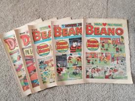 5 Collectable 80s Beano + Dandy Comics