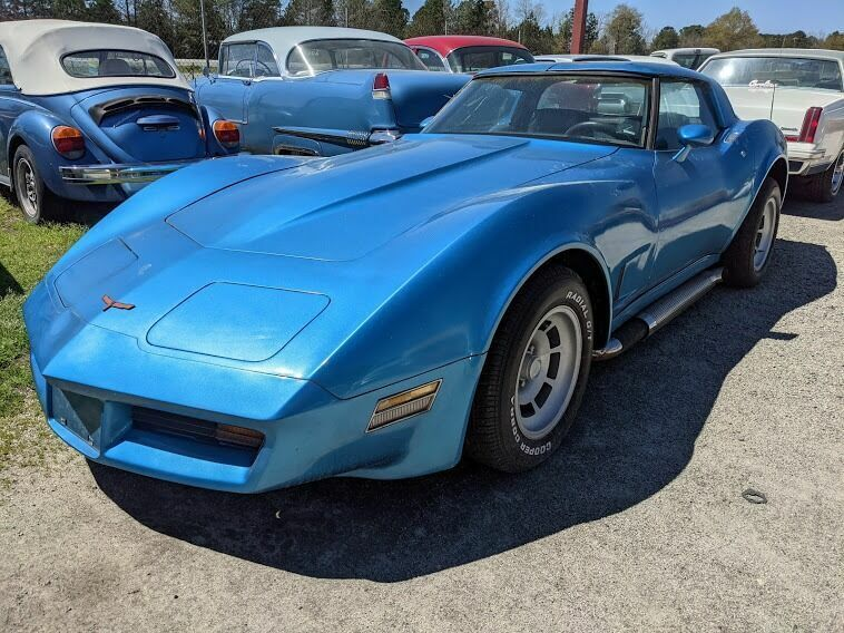 1980 Blue Chevrolet Corvette Coupe  | C3 Corvette Photo 1