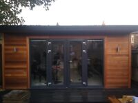 LOG CABIN, GARDEN HOUSE, GYM, OFFICE, PLAY ROOM, GUEST ROOM