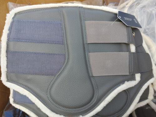 PSOS Full size grey brushing boots