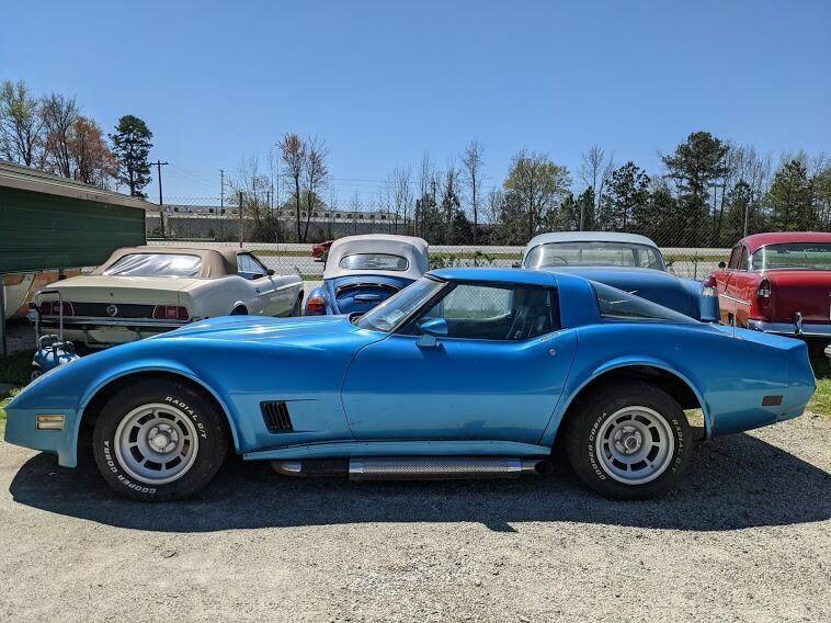 1980 Blue Chevrolet Corvette Coupe  | C3 Corvette Photo 3