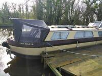 32ft Highbridge narrow boat project