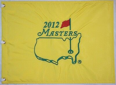 2012 MASTERS Official EMBROIDERED Golf Pin FLAG Sealed