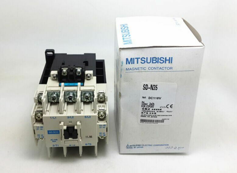 Mitsubishi Electric Coil Magnetic Contactor SD - N35