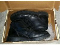 Caterpilla Black Boots Size 10 wide fitment