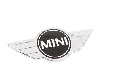 "Mini Cooper Countryman Paceman Genuine Emblem ""MINI"" For Hood Wings Insignia NEW"