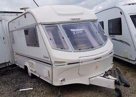 1996 Lunar Clubman 400 2 berth caravan
