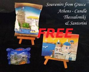 Greek Souvenirs - Santorini - Athen - Thessaloniki Vista Tea Tree Gully Area Preview