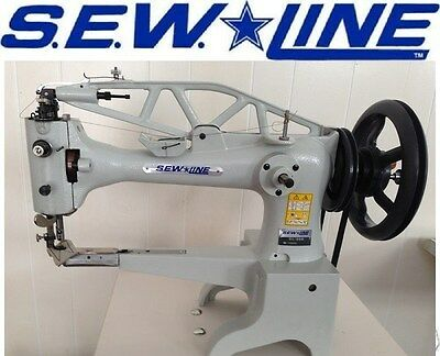 Sewline Sl-29b Shoe Patcher With Large Bobbin Servo Industrial Sewing Machine