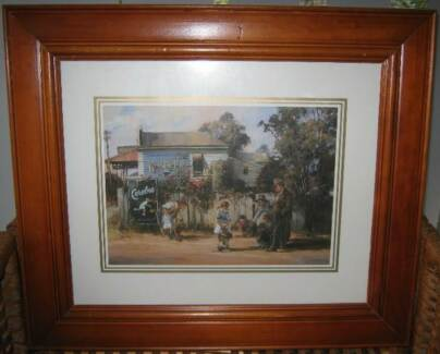 FRAMED PRINT, BIG RING, BY D'ARCY DOYLE