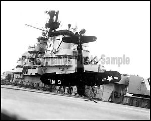 USMC F4U Corsair VMF-311 Willy Lovers CV-47 Korea 1953 8x10 Aircraft Photos