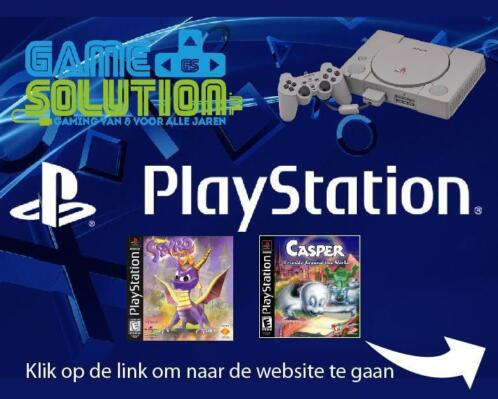 Playstation 1 console & games ** crash & spyro op voorraad *