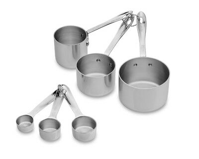 - All-Clad 6 PC. Odd-Size Measuring Cups & Spoon Combo Set