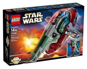 Lego 75060 Star Wars UCS Slave 1 (Brand New Factory Sealed) RARE Indooroopilly Brisbane South West Preview