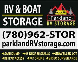 RV & Boat Storage - Spruce Grove - Low $$ - Security