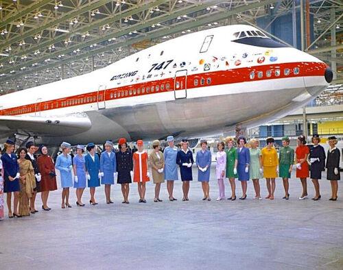 "Boeing 747 ((8.5""x11"")) Print"