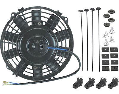 6  Inch Small Slim Electric Fan 12V Radiator Oil Cooler Atv Mini Tractor Mower