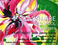 Fundraiser Paint Night with Jenny Long