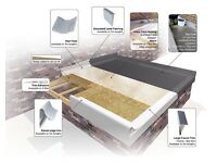 Need a new Felt roof? Is yours leaking? Get a new Fibreglass roof system Guaranteed for 25yrs