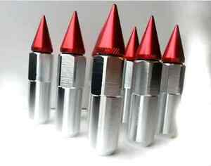 Spiked Wheel Lug Nuts 12x1.5 and 12x1.25mm