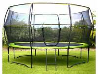 14 foot Trampoline.Brand New.Still In Box....Cost £350 Selling For £250 ( NO OFFERS )