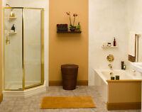 Corner shower installed  $ 999