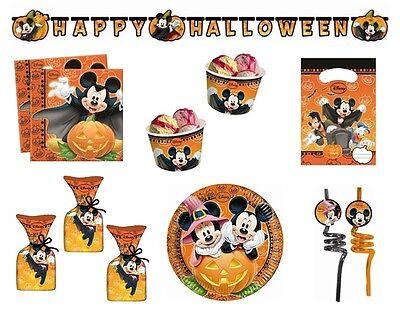 Disney Mickey Mouse Halloween Party Reihe - Geschirr Ballons & Dekorationen