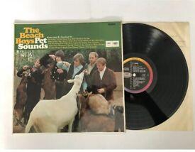 VERY RARE 1G/1G Beach Boys PET SOUNDS Vinyl FIRST PRESSING