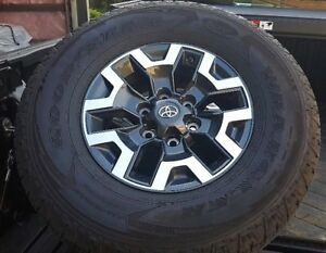 Toyota Tacoma, 2017 TDR Off Road Rims, Tires and Sensors