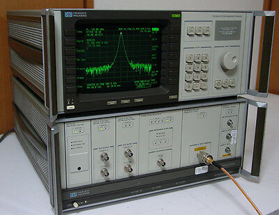 Hp 71210a 100hz- 22ghz Spectrum Analyzer 10hz Resolution