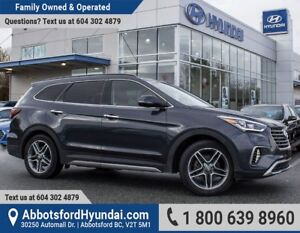 2017 Hyundai Santa Fe XL Limited ACCIDENT FREE