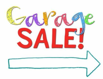 Garage Sale Saturday 28th October