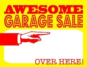 Garage Sale in Maple!