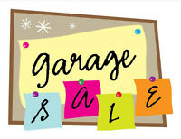 Three families, one driveway HUGE GARAGE SALE!!!!!